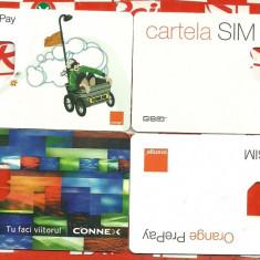 Lot port-cartele diferite - Cartela GSM