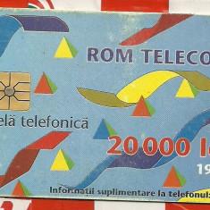 1995-20.000 lei - Cartela GSM