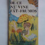 De ce nu vine Fat-Frumos - Niculae Tache (ilustratii de Monica Minulescu) / C15G - Carte educativa