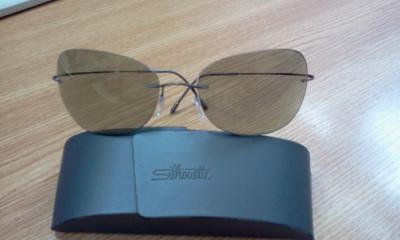Ochelari de soare Silhouette foto