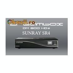 Receiver satelit - Dreambox 800 HD Second Edition Triple Tuner DVBS DVBC DVBT + Wifi Sunray