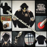 Hanorac barbati Burberry, Bumbac - HANORAC BARBATESC NEGRU INTENS GLUGA 100% BUMBAC firma BURBERRY LONDON ORIGINAL made in ENGLAND EPOLETI UMERI COATE IMPRIMEU CLASIC HANORACE BARBATI