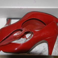 Pantofi dama Aldo, Marime: 40, Rosu - PANTOFI ROSU LACUIT,, ALDO,, NR40
