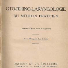 Georges Laurens - Oto-rhino-laryngologie du medecin praticien - 1927 - Carte ORL