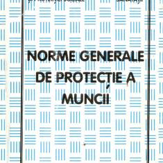 Norme generale de protectia muncii - Carte Resurse umane