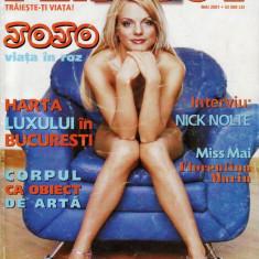 Reviste XXX - REVISTA PLAYBOY DIN MAI 2001 (JOJO)