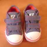 Adidas Emporio Junior - Adidasi copii Armani, Culoare: Albastru, Unisex, Albastru