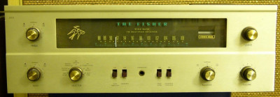 The Fisher 400 pe tuburi (lampi) Stereo tube receiver foto