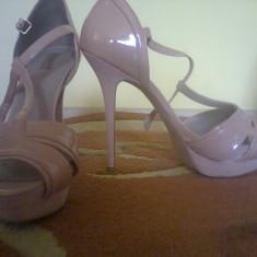 Pantofi barbati, Marime: 40, Roz - Pantofi Zara