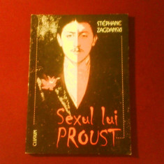 Stephane Zagdanski Sexul lui Proust - Carte Psihiatrie