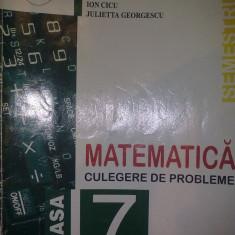 MATEMATICA CULEGERE CLS. VII SEMESTRUL 2 - S. Smarandache - Culegere Matematica