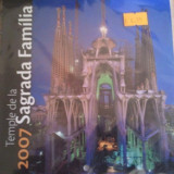 Calendar 2007, Sagrada Familia, sigilat, 5 euro, 20 roni - Calendar colectie