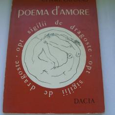 Carte poezie - POEMA D`AMORE ETTORE CAPUANO