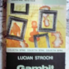 Carte de aventura - Lucian Strochi - Gambit