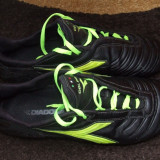 Ghete Fotbal – DIADORA CELER RTX 12, 42 2/3, Negru, Barbati