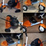 Jucarii - Tricicleta Kettler Funtrike Albastru, cu centura de siguranta