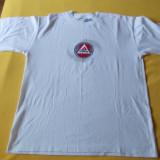 Tricou ADIDAS original din bumbac 100% / Tricou ADIDAS marimea L/XL / ADIDAS mar. XL - Tricou barbati, Marime: L, Culoare: Alb