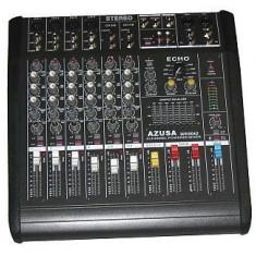 Amplificator audio - Vand mixer audio cu amplificator pmq2108 2x240w azusa mik0042