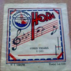 Instrumente muzicale Altele - CORZI VIOARA- NOTA MI.