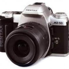 PENTAX MZ-50 APARAT FOTO ANALOGIC, OBIECTIV TAMROM - Aparat Foto cu Film Pentax