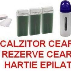 Ceara epilare - KIT PENTRU EPILAT INCALZITOR CEARA - APARAT CEARA 3 REZERVE HARTIE EPILAT