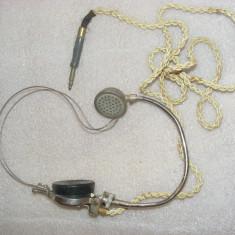 Antichitate, CASCA VECHE DE TELEFONIE.CASCA CENTRALA TELEFONICA, CASCA INTERVENTIE LA DERANJAMENTE - Casti Telefon