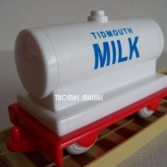 My First Thomas by Golden Bear - Vagonul de lapte - rar ( transport 2.6 RON la plata in avans ) - Trenulet de jucarie Thomas and Friends, Plastic, Unisex