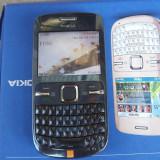 Nokia C3 - Telefon mobil Nokia C3, Albastru, Neblocat