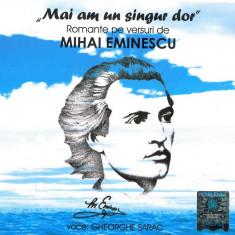Pachet 3 CD 38 romante eminesciene - Mai am un singur dor - Muzica Clasica a&a records romania