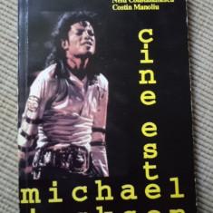 Cine este Michael Jackson Nelu Constantinescu Costin Manoliu carte muzica pop - Biografie