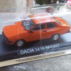 Macheta auto, 1:43 - Macheta metal DeAgostini Dacia 1410 Sport noua+revista Masini de Legenda nr.26