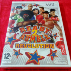 Jocuri WII Atari, Sporturi, 12+, Multiplayer - Joc Ready 2 Rumble Revolution, Wii, original si sigilat, 39.99 lei(gamestore)!