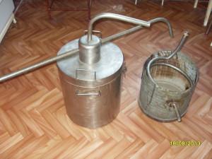 Cazan Tuica alambic inox 100% capacitate 28 litri foto