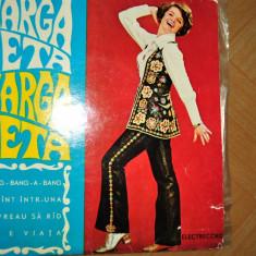 MARGARETA PISLARU DISC VINIL CU 4 MELODII DIN REPERTORIUL INTERNATIONAL - Muzica Pop electrecord