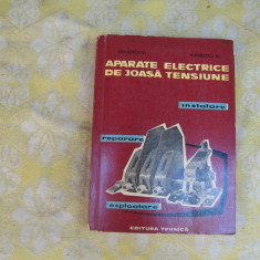 Carte tehnica - Aparate electrice de joasa tensiune instalare, reparare, exploatare Simulescu D