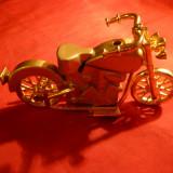 Bricheta miniatura Motocicleta - cu gaz - Bricheta Zippo