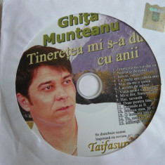 CD Ghita Munteanu - Tineretea mi s-a dus cu anii - Muzica Chillout
