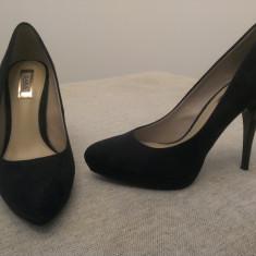 Pantofi Dama Zara - Pantof dama Zara, Marime: 38, Culoare: Negru, Negru