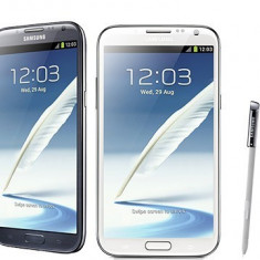 Telefon mobil Samsung Galaxy Note 2, Gri, Neblocat - Samsung Galaxy note II LTE N7105, garantie, factura, huse, stylus+baterie rezerva, folii folii