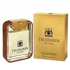 Trussardi My Land EDT 100 ml pentru barbati - Parfum barbati Trussardi, Apa de toaleta