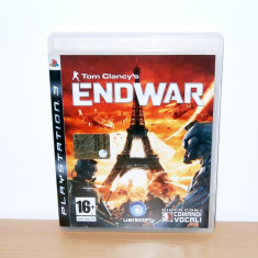 Vand / schimb joc PS3 - Tom Clancy's: End War - Jocuri PS3 Ubisoft, Strategie