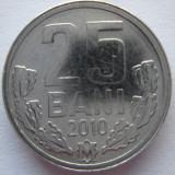 REPUBLICA MOLDOVA 25 BANI 2010 NECIRCULATA ! ! ! - Moneda Romania