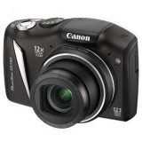 Aparat Foto compact Canon, Compact, 12 Mpx, 12x, 3.0 inch - Digital Camera - CANON PowerShot SX130 IS