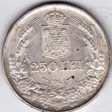 Monede Romania - 3) 250 lei 1941 argint 12 grame, 0.835, NSD, LUCIU MONETARIE, XF/a.UNC