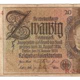 LL bancnota Germania 20 Reichsmark 1929 (b)
