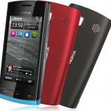 Telefon mobil Nokia 500, Negru, 2GB, Neblocat, Single core, 512 MB - Nokia 500