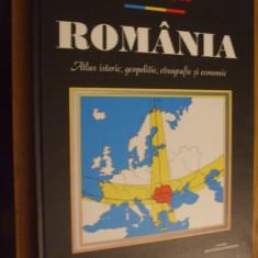 ROMULUS SEISANU -- ROMANIA *1918 - 1940 * Atlas Istoric, Geopolitic, Etnografic si Economic -- 2000, 199 p. ; text roman, englez si francez