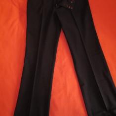 Pantaloni office din stofa GAP, size 0 (XS) - Pantaloni dama Gap, Culoare: Negru, Lungi, Tercot