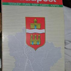 BUDAPESTA HARTA TURISTICA