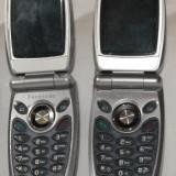 TELEFON MOBIL PANASONIC EB X70 DEFECT PENTRU PIESE SAU REPARATIE piesa de schimb service GSM, Gri, Nu se aplica, Dual core, 128x128 pixeli